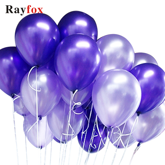 Thick 1.5g 10 inch Balloons for Wedding Birthday Baby Shower Bachelor Parties Decorations Supplies Blue Pink Gold Silver