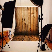 1*1.5M Wood Color Floor Wall Photography Background Cloth Photo Studio Photography Backdrops Accessory