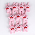 Anime OURAN HIGH SCHOOL HOST CLUB Rabbit Bunny Mini Plush Toys Soft Stuffed Animal Pendant Dolls 10pcs/lot 14cm