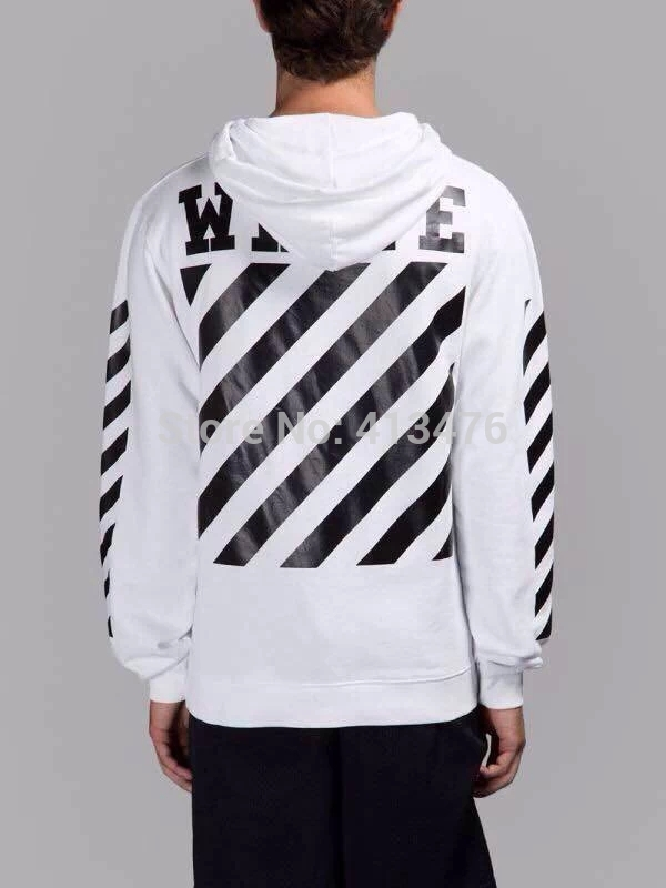 Online Shop 2015SS OFF WHITE men's Outerwear pullover stripe ...