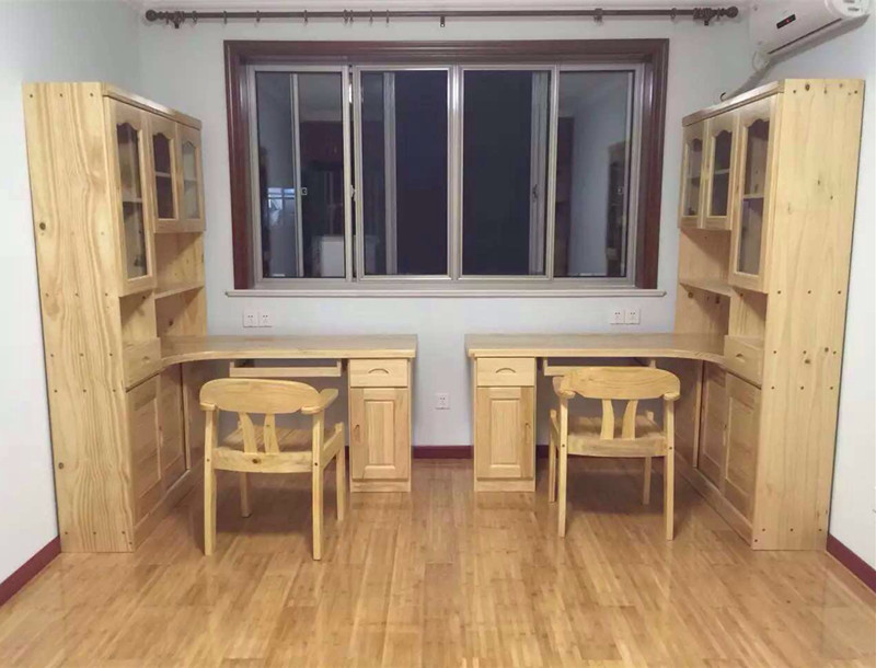 Custom made furniture, custom solid wood corner computer ...