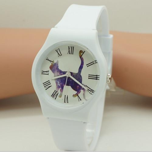 willis New gift Women waterproof quartz casual Wristwatches Cartoon silicone watch 0150