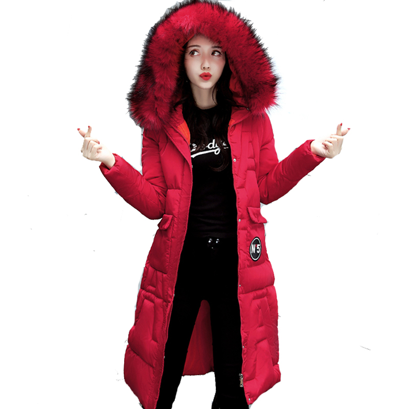 Big fur collar hooded winter jacket women warm cotton padded outerwear jaqueta feminina inverno long female parka coat fitaylor 2017 fur collar hooded winter jacket women long cotton padded female coat overcoat outerwear inverno warm slim coats