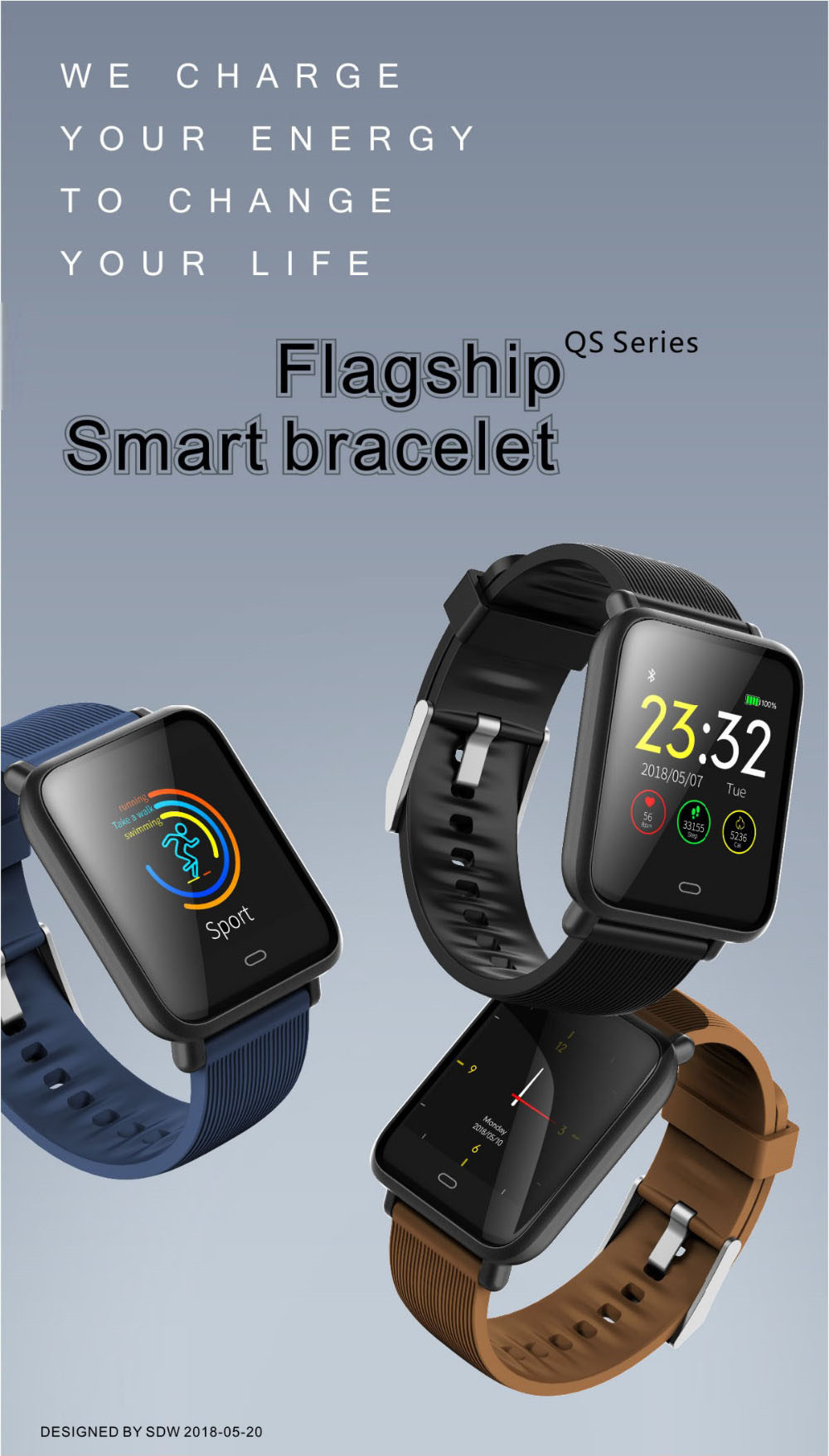 smart wristband smartwatch gps health band 1 (1)