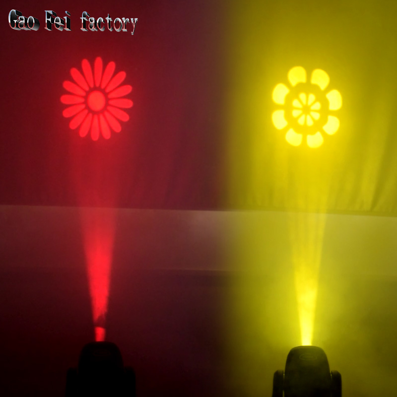 stage light moving head LED 100W sport light gobos with colors and prism dmx 512 led stage lighting for dj - 6