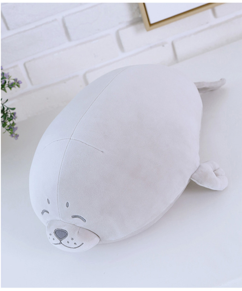 1pcs Cute Soft Animal Sea Lion Doll Baby Sleeping Pillow Marine Animals Seal Plush Toy Kids Stuffed Toys Gift (5)
