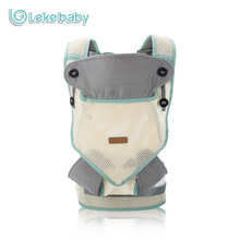 Lekebaby 360 Breathable Ergonomic Baby Carrier 3D Mesh Soft Newborn Sling