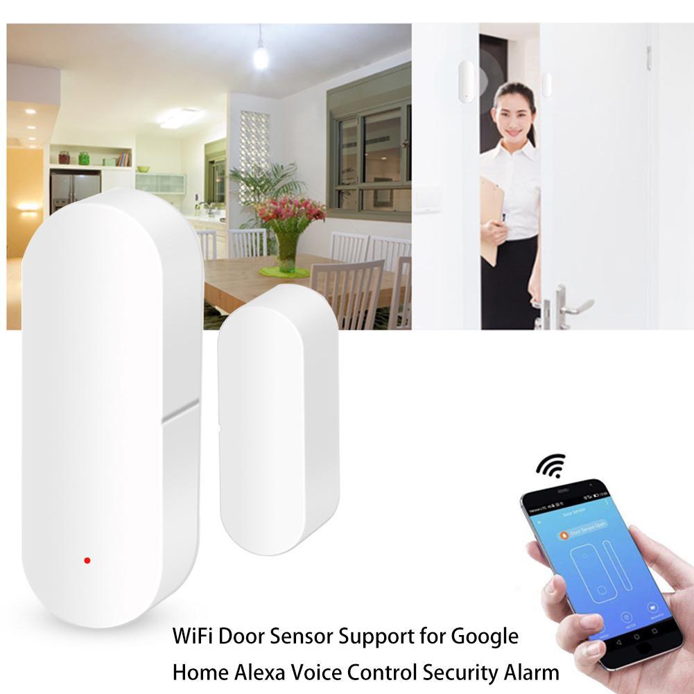 Support Door-Sensor Voice-Control-Security-Alarm Alexa Google Wifi Home for Hight-Quality