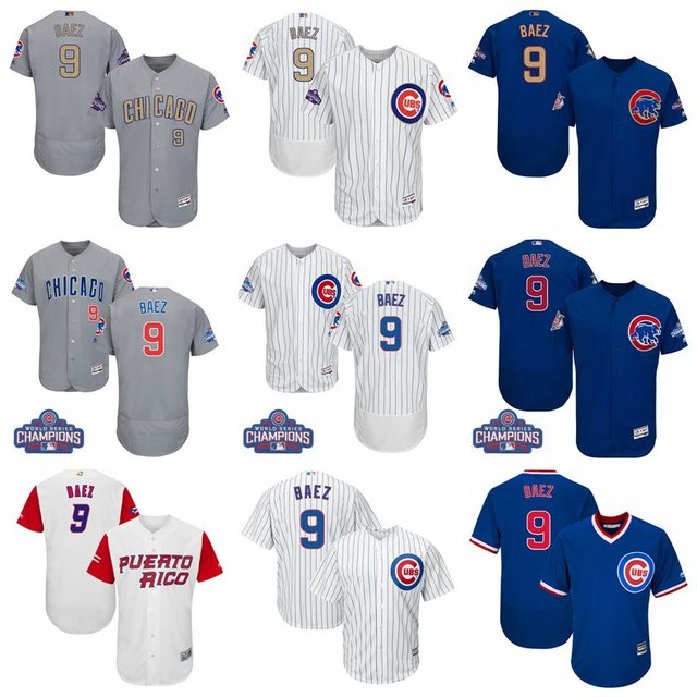 hot sale online 816f6 fd493 MLB Men's Chicago Cubs Javier Baez Jerseys-in Baseball Jerseys from Sports  & Entertainment on Aliexpress.com | Alibaba Group