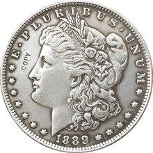 1889-CC сша Морган доллар монеты КОПИЯ