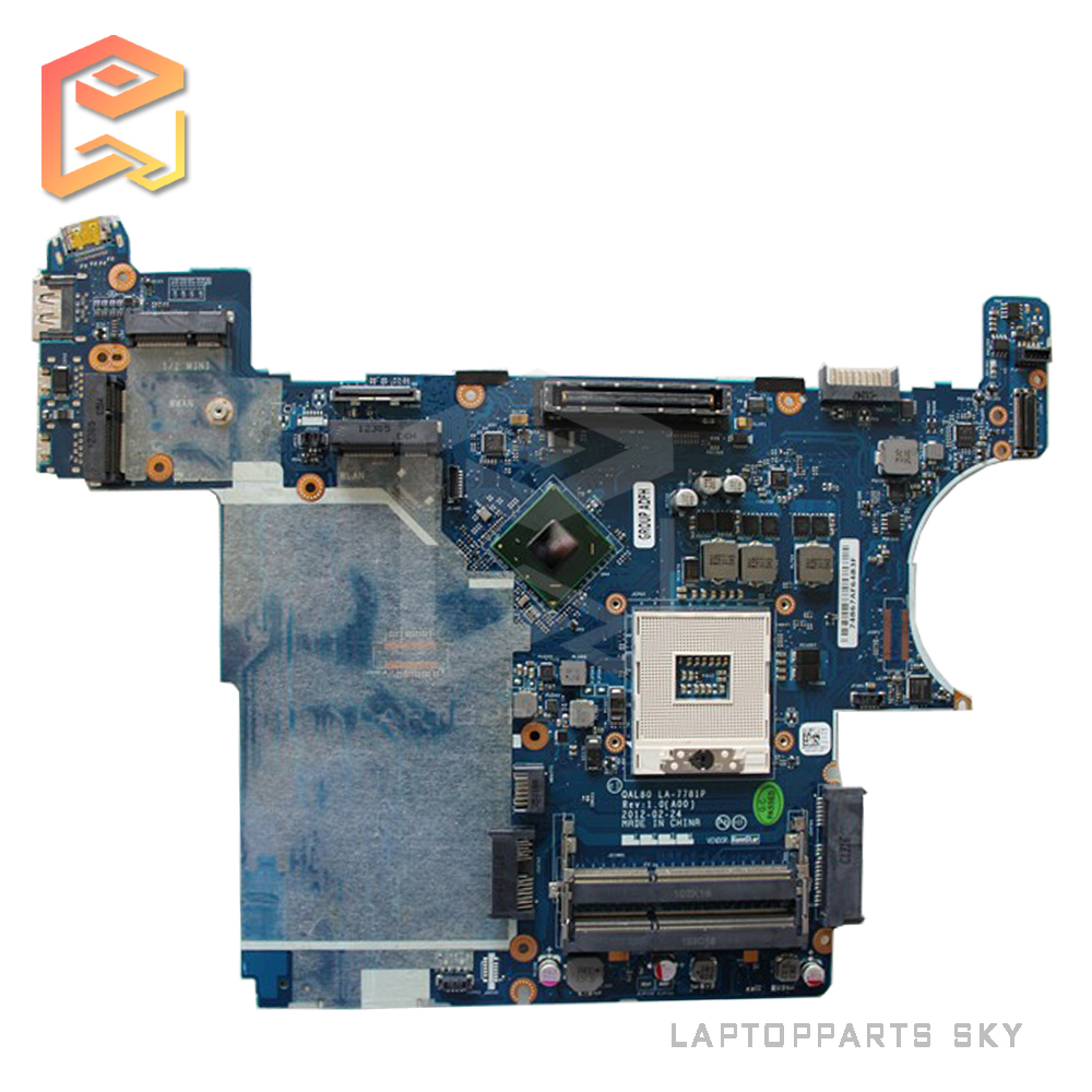 Original new laptop motherboard for Dell E6430 DDR3 QAL80 LA-7781P mainboard fully test work well for msi ms 10371 intel laptop motherboard mainboard fully tested works well