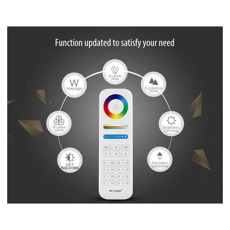 Miboxer 2,4G сенсорный пульт дистанционного управления WiFi iBox RGB + CCT/RGBWW светодиодный светильник FUT039/FUT092/FUT089/iBox2/iBox1/B4/T4/B8