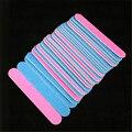 100 pcs 100/240 ferramentas de arquivo de Buffer Lustrando Magro Crescente grit Prego Profissional Fazer suas mãos mais bonitas