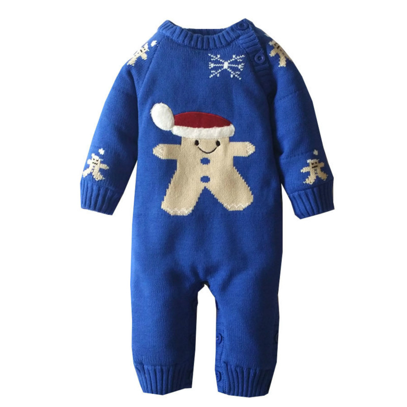 Baby Romper Thick Fleece Warm Cardigan for Winter Kids Knitted Sweater Infant's Climbing Clothes Hooded Girl Boys Outwear mountainskin 2017 winter autumn spring baby boys girl sweater kids rompers children suit cardigan thick warm outwear 0 24m sc895