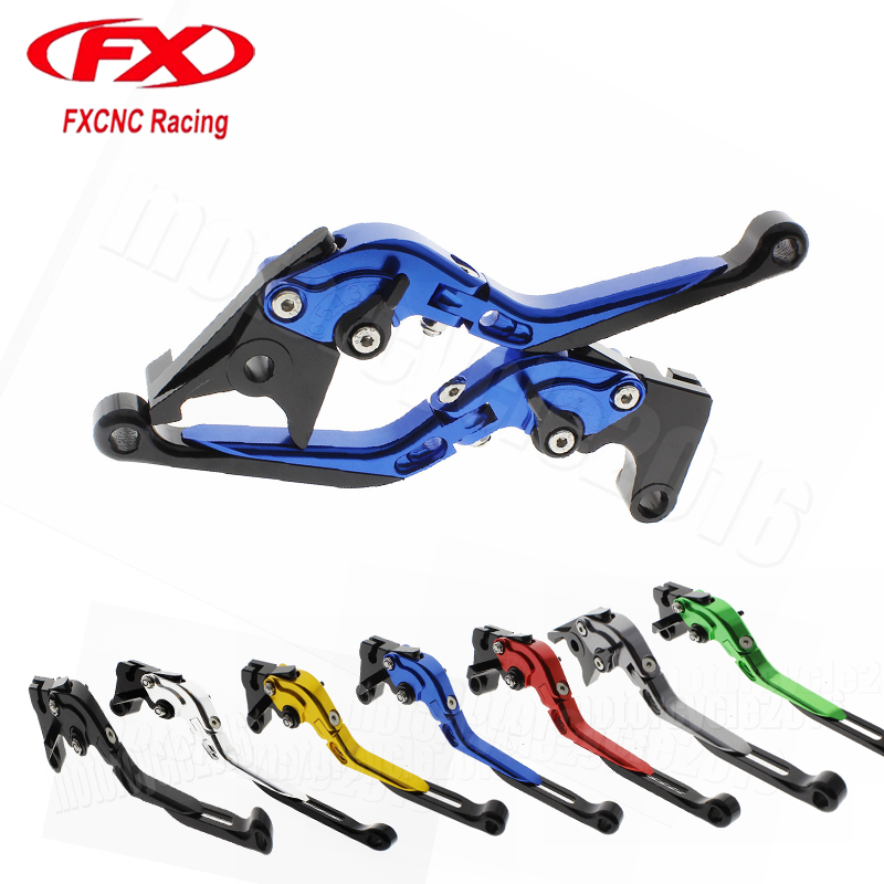 FXCNC Foldable/Extendable Motorcycle Brake Clutch Levers For Honda CBR650F/CB650F 2014-2017 2015 2016 Moto Hydraulic brake lever