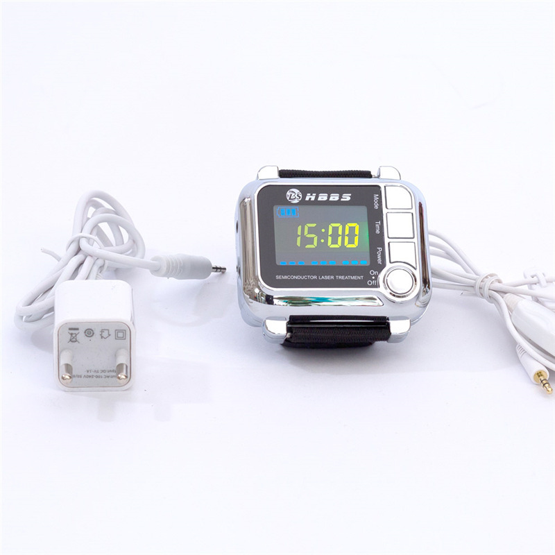 High quality home use laser watch therapy device improving blood circulation beauty & health health care home use high electric potential therapy device beauty