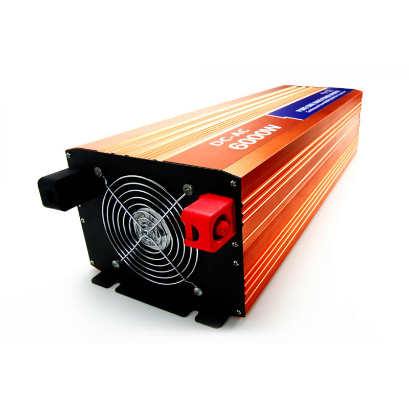 MAYLAR@ 6000W 24VDC 110V/120V/220V/230VAC 50Hz/60Hz Peak Power 12000W Off-grid Pure Sine Wave Solar Power Inverter decen 6000w 48vdc 110v 120v 220v 230vac 50hz 60hz peak power 12000w off grid pure sine wave solar inverter or wind inverter
