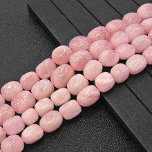 10 11x13 15mm Naturale Freefrom di Patate Madagascar Rosa Quarzi Perle FAI DA TE Perline Allentati Per Monili Che Fanno Perline Accessori 15