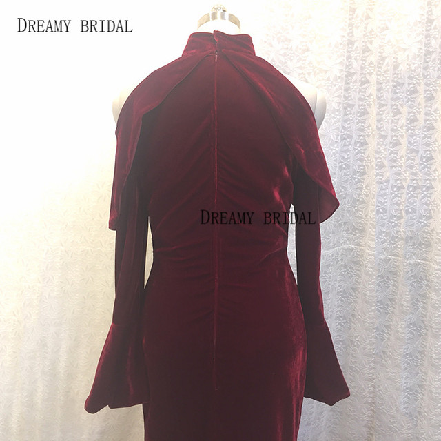 Floor Length Velvet Dress