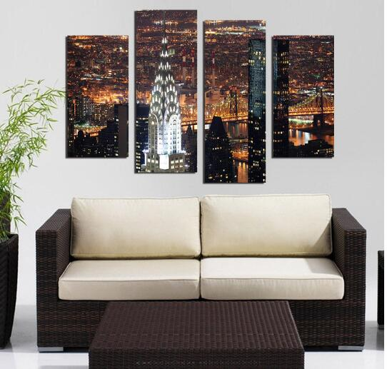 Wall Art With Lights manhattan light promotion-shop for promotional manhattan light on