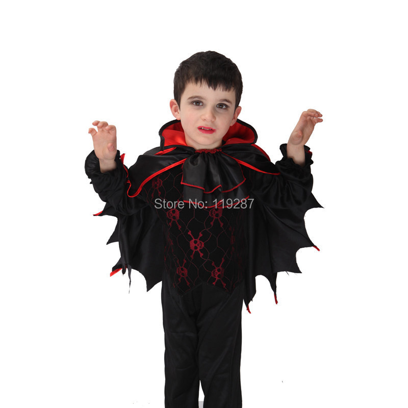 shanghai story childrens vampire cosplay costume boys kids bat wings halloween fancy carnival costume in boys costumes from novelty special use on - Vampire Pictures For Kids