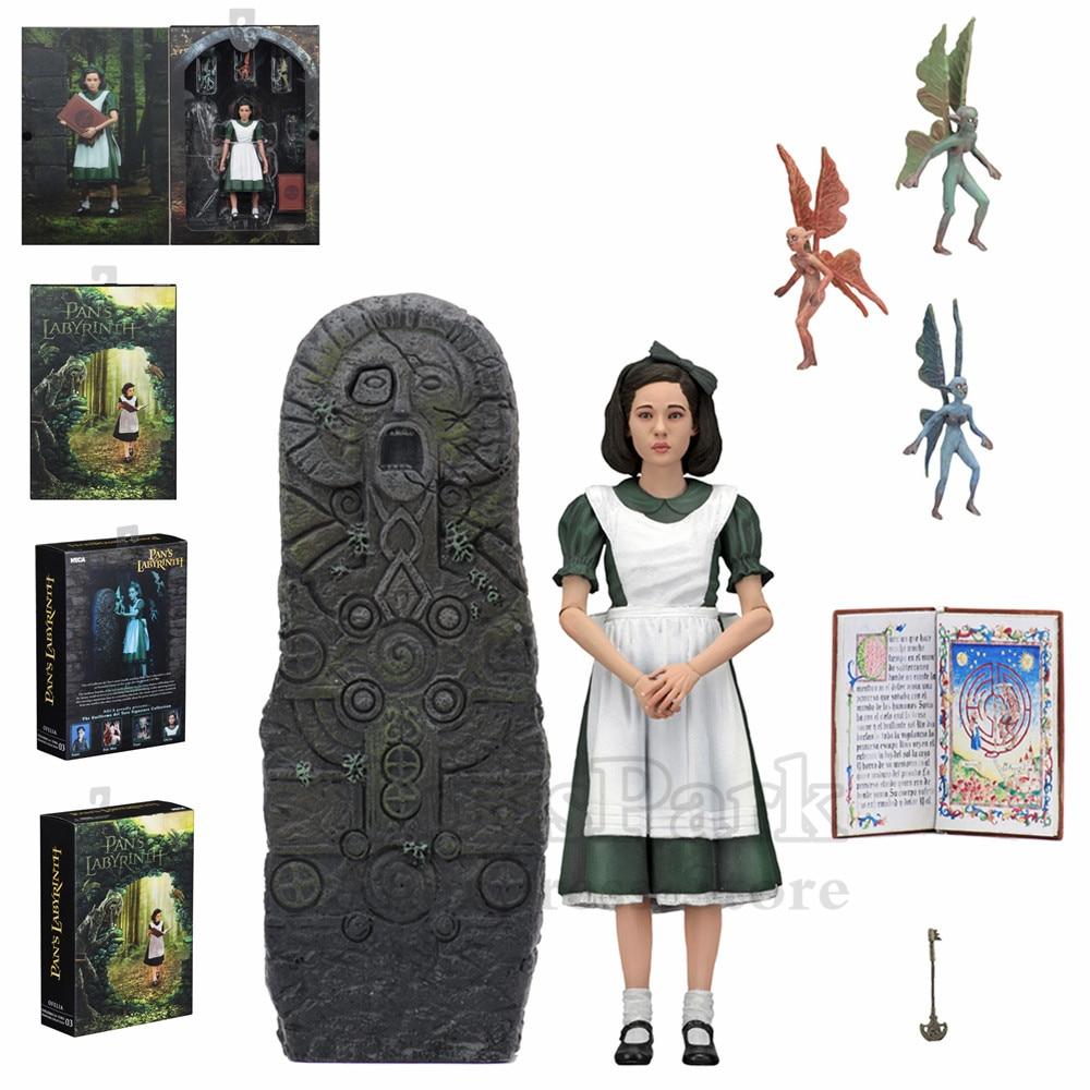 NECA Guillermo del Toro Signature Collection Pan s Labyrinth Ofelia 7 Scale Action Figure El Laberinto