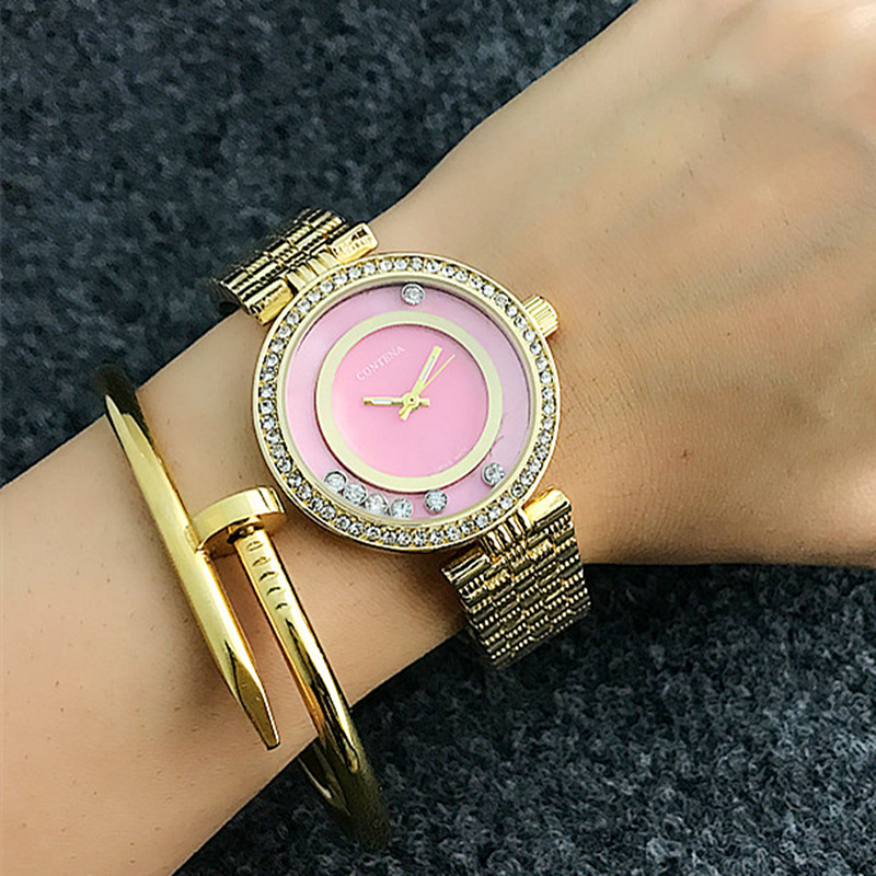 Luxury Diamond Dress Womens Watches CONTENA Fashion Classical Ladies Wristwatches New Deisgn Retro Style Female Watch FemininoLuxury Diamond Dress Womens Watches CONTENA Fashion Classical Ladies Wristwatches New Deisgn Retro Style Female Watch Feminino
