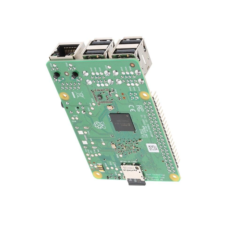 2018 nouveau Raspberry original Pi 3 modèle B + (plus) intégré Broadcom 1.4GHz quad-core 64 bits processeur Wifi Bluetooth et Port USB - 4