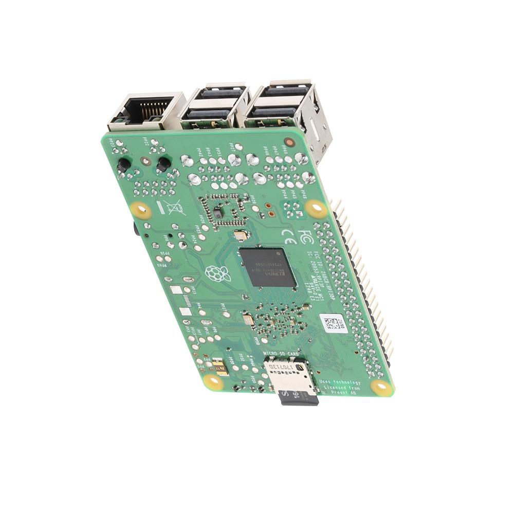 2018 original nuevo Raspberry Pi 3 Modelo B, modelo B + (enchufe) incorporado Broadcom quad core de 1,4 GHz de 64 bits Wifi procesador Bluetooth y Puerto USB - 4