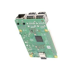 Image 4 - Raspberry original pi 3 modelo b +, (plus) broadcom processador 1.4ghz embutido, processador quad core 64 bits, wifi, bluetooth e porta usb