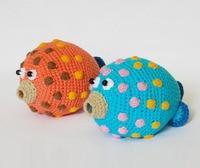 crochet armigurumi rattle fish model number WL006