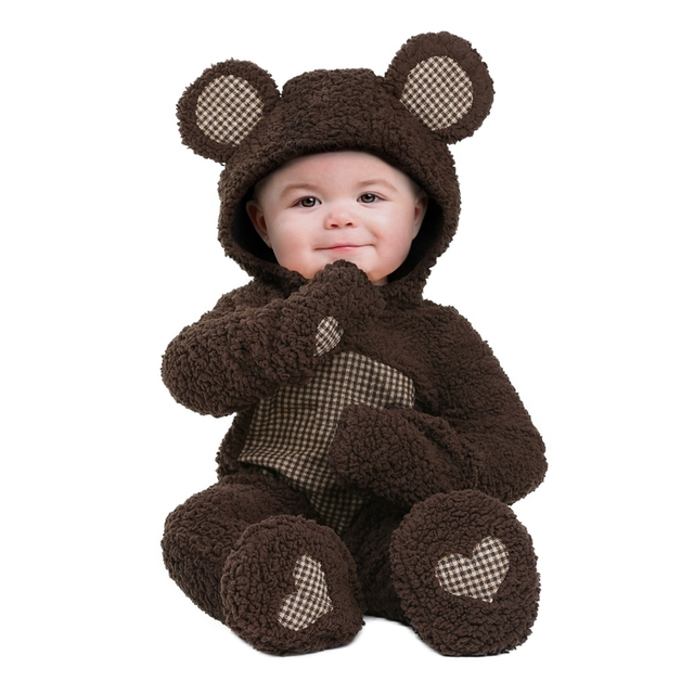 soft baby bear infant costume became the most adorable little animal cub this halloween 3
