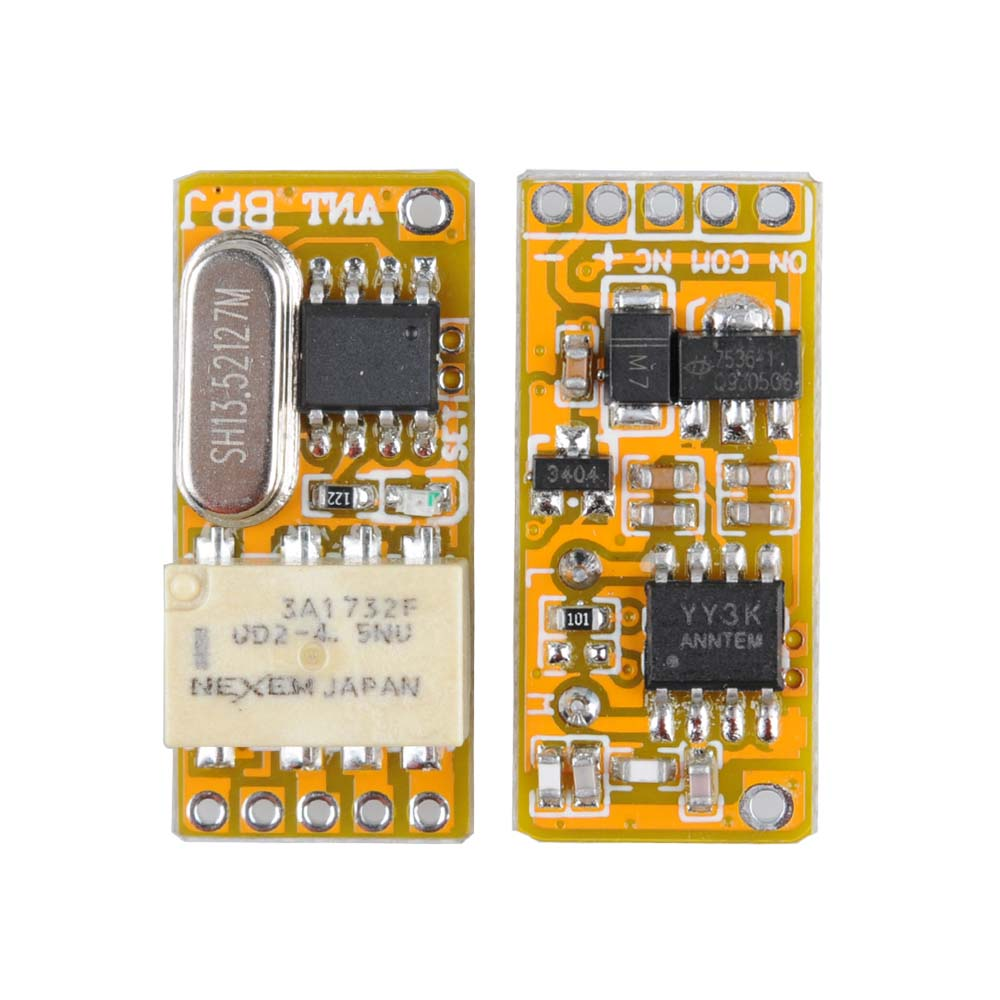 Mini Relay Remote Switch DC3.7V 4.2V 5V 6V 7.4V 8.4V 9V 12V Output 0V Dry Contact Relay Switching Value NO COM NC 315/433 dc 3 7v 4 5v 5v 6v 7 4v 9v 12v mini 2ch relay remote switch micro wireless switch no com nc relay receiver transmitter contact