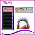 Wholesale J B C D Curl All Size Individual Black Mink eyelash extension with supple/soft material