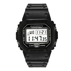 Clocks Watch Alarm Digital Men Chrono Waterproof Male 50M Sport Countdown Relojes-De-Hombre