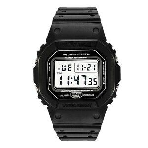 Image 1 - ספורט שעון גברים שעונים זכר ספירה לאחור שעון מעורר כרונו דיגיטלי שעוני יד 50M עמיד למים Relojes דה hombre דיגיטלי שעון