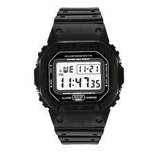스포츠 시계 남자 시계 남성 카운트 다운 시계 알람 크로노 디지털 손목 시계 50M 방수 Relojes 드 hombre 디지털 시계