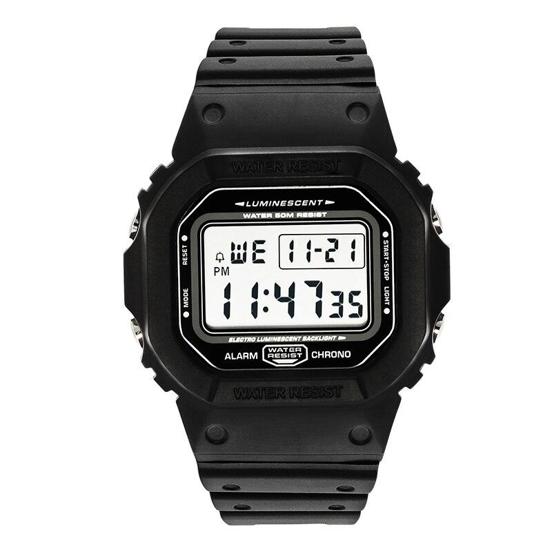 Sports Watch Men Clocks Male Countdown Watch Alarm Chrono Digital Wristwatches 50M Waterproof Relojes De Hombre Digital Watch