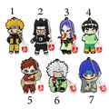 3D Série Naruto Sasuke Gaara Dos Desenhos Animados Dos Desenhos Animados da Vara Pen Drive de Memória 8 Gb 32 GB USB Flash Drive USB Creativo PenDrives 4 GB 16 GB