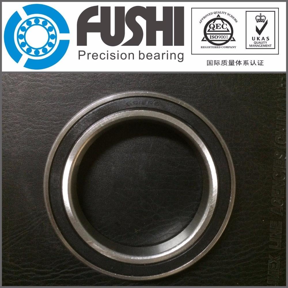 6916 2RS ABEC-1 (2PCS)  80x110x16 Metric Thin Section Bearings 61916RS 6916RS 1pcs 71822 71822cd p4 7822 110x140x16 mochu thin walled miniature angular contact bearings speed spindle bearings cnc abec 7