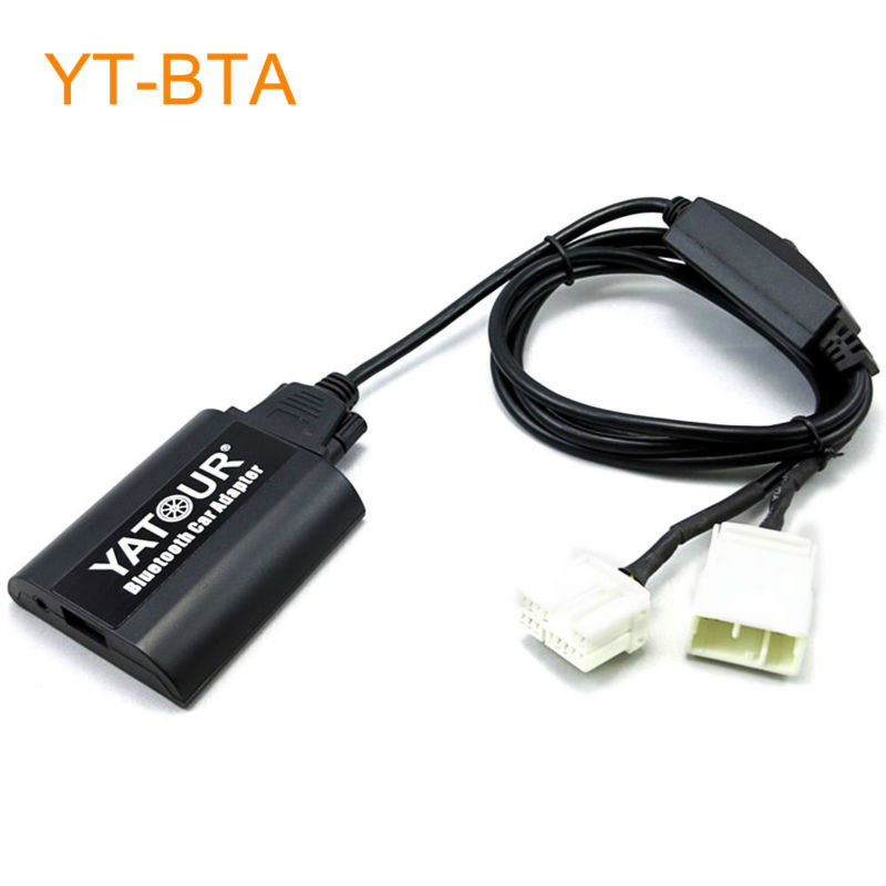 Yatour BTA Car Bluetooth Adapter Kit Work with Factory CD Changer for OEM Head Unit Radio for Acura CSX MDX RDX TSX car digital music mp3 cd changer for head unit radio for lexus is200 is250 is300 is350 lx470 rx300 gs300 gs400 gs430 gs450h