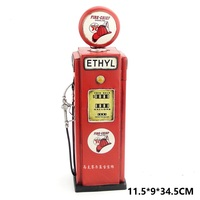 Antique classical model retro vintage wrought metal crafts for home decoration or birthday gift American old gas pump