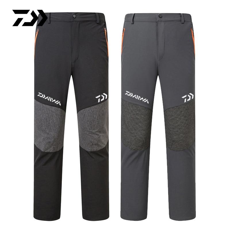 Daiwa Summer Breathable Fishing Pants Outdoor Hiking Camping Quick Dry Men Pants Sports Loose Trousers Casual Fishing Pants 2019