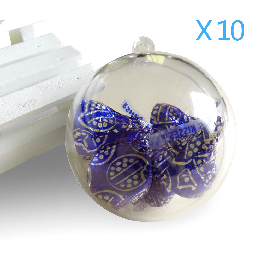 Small Of Clear Christmas Ornaments
