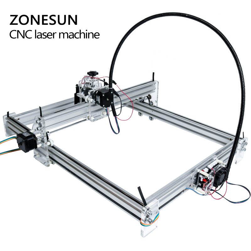 5500mW Desktop DIY Violet Laser Engraving Machine Picture CNC Printer Maximum Engraving Area 35*50CM - 3
