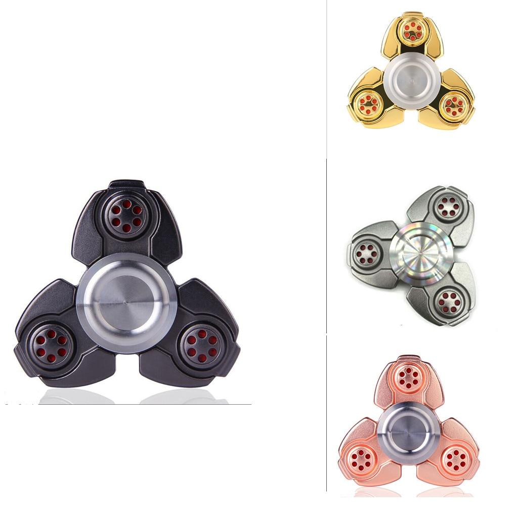 2017 Hand Fidget Spinner Titanium Alloy Finger Gyroscope Focus Toys Kids Adult Hand Spinner Toys