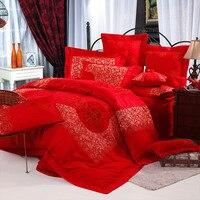 Постельное белье/Простыни/Постельные принадлежности/Одежда высшего качества Ткань, 4 шт. Постельные Принадлежности Комплекты/кровать Прос