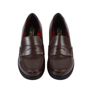 Image 3 - 2019 새로운 일본식 대학생 신발 코스프레 로리타 신발 여자/여자 패션 블랙/커피 플랫폼 신발 크기 35 40