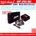 100% Jtag ORT Box-Repair Software Flash & Unlock originais ferramenta para samsung lg htc zte telefones celulares e frete grátis