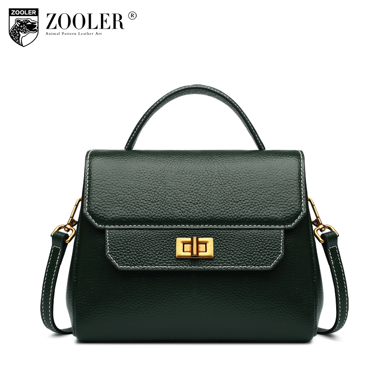 ZOOLER Genuine leather bags Fashion Women Messenger Bags Handbag Bag Lady Crossbody Shoulder Bags Female Handbags B128 car styling tail lights for toyota prado 2011 2012 2013 led tail lamp rear trunk lamp cover drl signal brake reverse